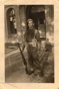 Charles Fredrick Andrews : Gunner 1943-45; 14808721